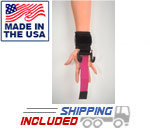 Haulin' Hooks WOMEN'S Weightlifting Hooks and Straps (Pair) -- LPG Muscle (HH-1002)