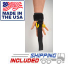 Haulin' Hooks PROFESSIONAL Weightlifting Hooks and Straps (Pair)