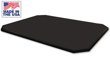 American Built AB-RP86 8' x 6' Stand Alone Solid Rubber Weightlifting Platform