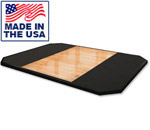 American Built AB-PS88 8' x 8' Olympic Weightlifting Platform with Oak Center by Matrix