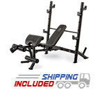 Marcy MD-867W Mid Size Barbell Bench Press
