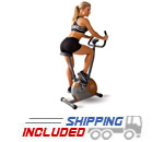 Marcy ME-708 Upright Magnetic Cycle Bike for Home Gyms