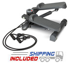 Impex MS-69 Mini Stepper with Resistance Bands for Home Use