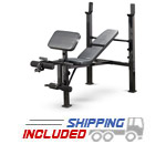 Marcy MWB-479 Adjustable Bench Press For Home Gyms