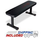 Marcy Flat Utility Bench For Home Gyms