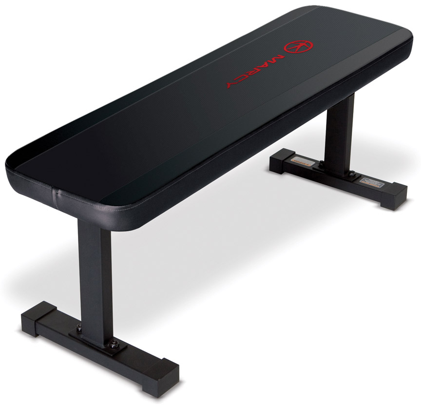 in home benches flat utility bench for home gyms marcy sb 315
