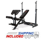 Marcy MD-859P Bench Press/Squat Stand Combo