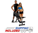 Marcy Adjustable Weight Bench For Home Gyms