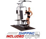 Powerline by Body-Solid PHG1000X Compact Home Gym for Fitness Training