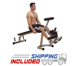 Powerline by Body-Solid PLCE165X Plate Loaded Leg Extension / Leg Curl