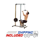 Powerline by Body-Solid PLM180X Plate Loaded Lat Pulldown Machine