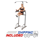 Powerline by Body-Solid PVKC83X Vertical Knee Raise for Bodyweight Training