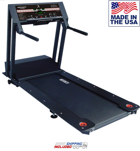 USA Made Super Tuff 4608HRT Rehabilitation Treadmill w/Heart Rate Control