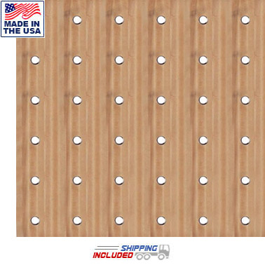 "36-Hole 36"" Square Maple Pegboard Climber"