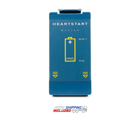 Philips M5070A Defibrillator Four-Year Battery for M5066A, M5067A, M5068A, 861304 Defibrillators