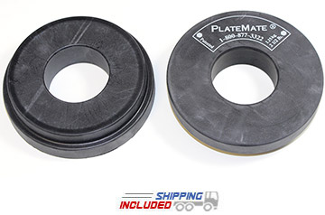 PlateMate Large 2.5 lb. Magnetic Donuts for Dumbbells