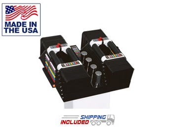90 lb. Powerblock Elite Sports Block Dumbbells