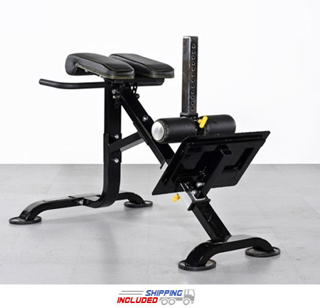 Powertec P-HC10 Dual Hyperextension Ab Crunch combo