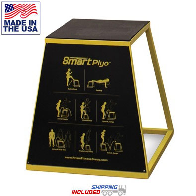 Self-Guided SMART Plyo Box with Exercise Panel