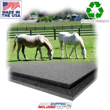 Large Rubber Horse Stall Mats
