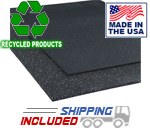 Colored Heavy-Duty Rubber Gym Mats