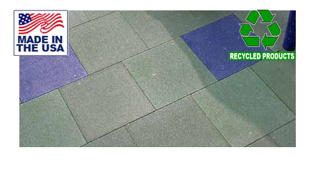 Bounce Back Playground Safety Flooring Tiles