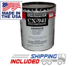 RB Rubber CX-941 Large 5 Gallon Pail Polyurethane Adhesive for Rubber Gym Flooring Installations