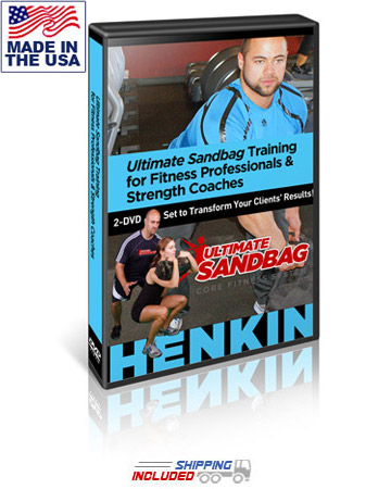 Ultimate Sandbag Training for Fitness Professionals & Strength Coaches 2-DVD Set