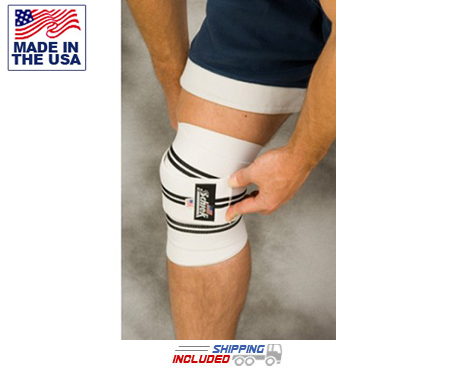 Schiek Weightlifting Knee Wraps for Squats, Hack Squats and Leg Presses