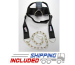 Schiek Adjustable Nylon Head Harness for Neck Training