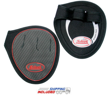 Schiek Non-Slip Padded Grip Pads for Barbell and Dumbbell Training