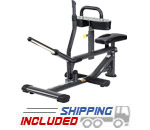 SportsArt A981 Plate Loaded Seated Calf Machine with Oval Tubing