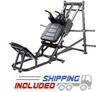 SportsArt A989 Plate Loaded Hack Squat Machine for Commercial Gyms
