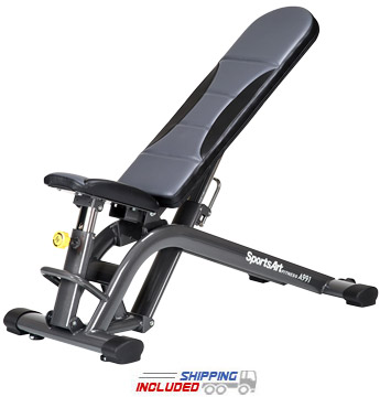 SportsArt A991 Free Standing FID Weight Training Bench