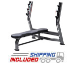 SportsArt A996 Olympic Flat Bench for Commercial Gyms