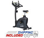 SportsArt C535U Foundation Series Upright Exercise Bike w/ Cardio Advisor
