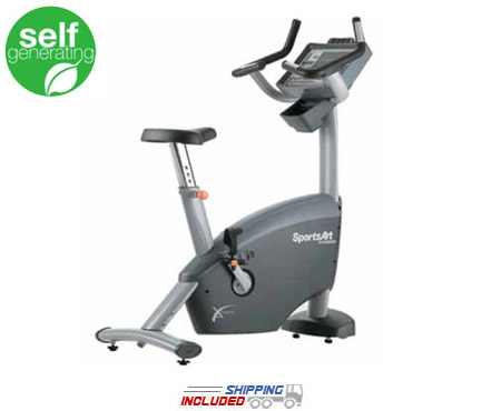 C580u Upright Cycle Club Series -- SportsArt (C531u)