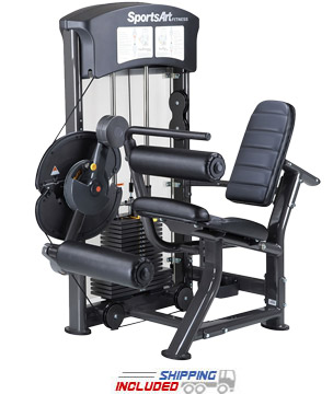 SportsArt DF-100 Selectorized Leg Extension / Leg Curl Machine