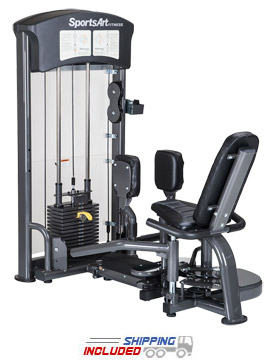 SportsArt DF-102 Selectorized Abductor / Adductor Thigh Training Machine