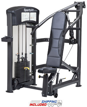SportsArt DF-108 Selectorized Multi-Press Machine for Commercial Gyms
