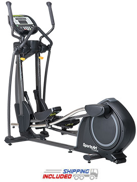 E835 Foundation Series Club Elliptical
