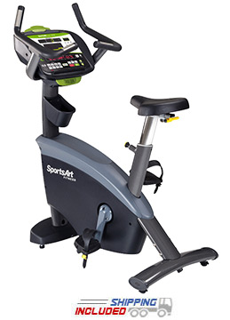 SportsArt G575U Status Series ECO-POWR Upright Stationary Bike