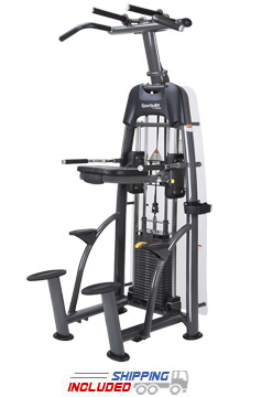 SportsArt S911 Selectorized Weight Assisted Chin-Up / Tricep Dip