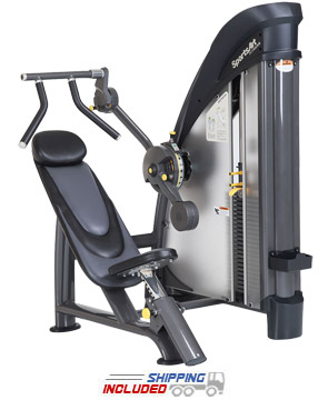 SportsArt S923 Selectorized Pullover Machine for Lat Training