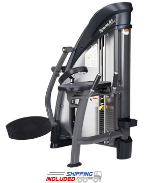 SportsArt S955 Selectorized Glute Trainer for Commercial Gyms