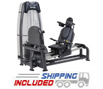 SportsArt S956 Selectorized Seated Leg Press Machine with Linear Bearings