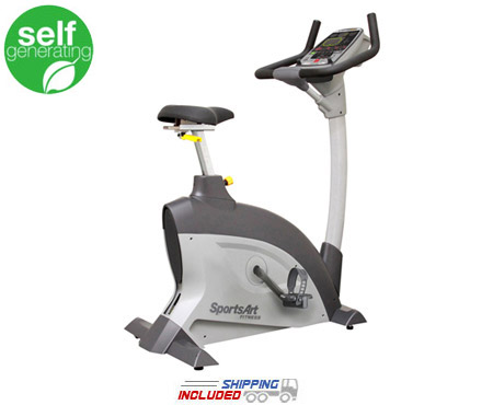 C521u Upright Cycle Performance Series -- SportsArt (C531u)