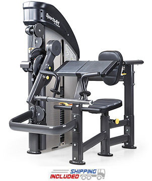 SportsArt DF205 Selectorized Biceps Curl / Triceps Extension Machine