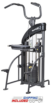 SportsArt DF207 Selectorized Assisted Chin-Up / Tricep Dip Machine