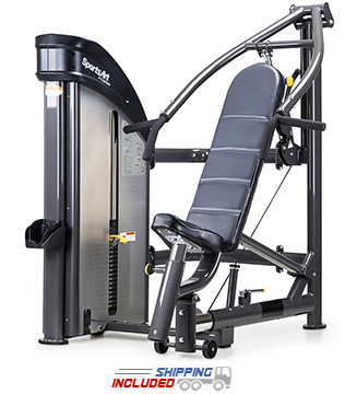 SportsArt DF208 Selectorized Multi-Press Machine for Commercial Gyms